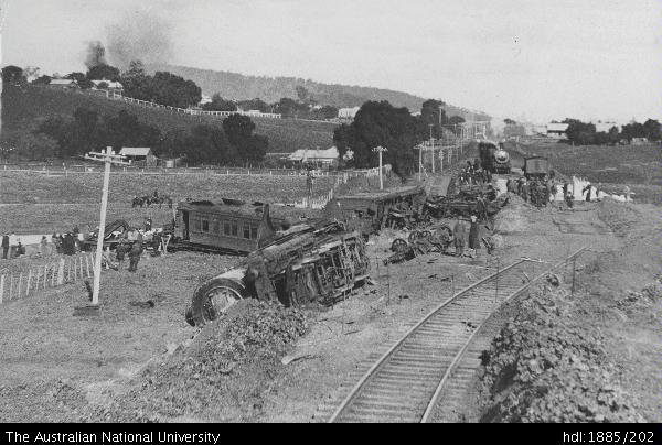 Open Research Railway Accident At Aberdeen New South Wales