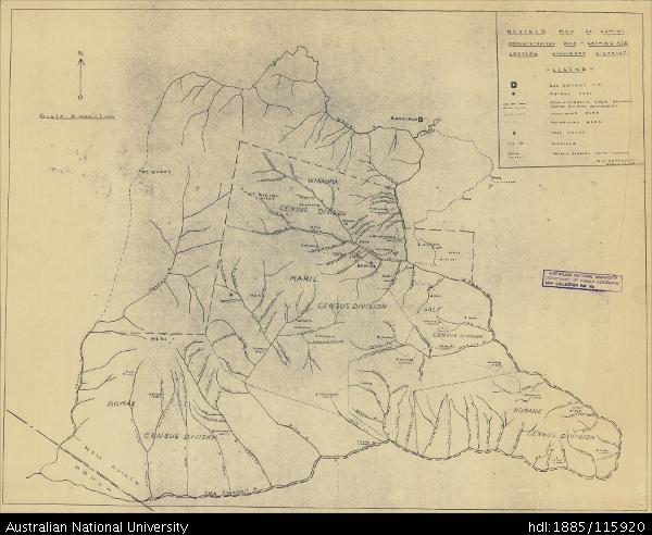 Open Research Papua New Guinea Revised Map of Gumine