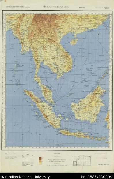 Map Of Asia 1960.Open Research East Asia And North Pacific China South China Sea
